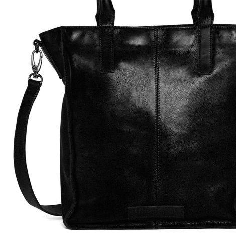 Sticks and Stones Ledertasche Zurich Black •