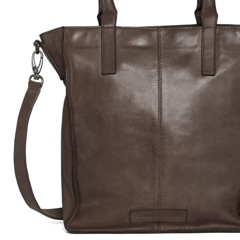 Sticks and Stones Ledertasche Zurich Dark Taupe •