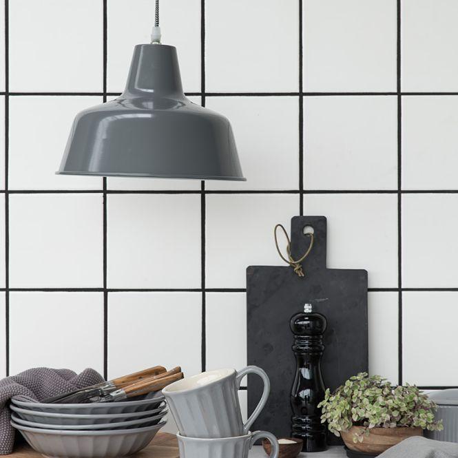 ib laursen mynte lampe metall grau online kaufen emil paula. Black Bedroom Furniture Sets. Home Design Ideas