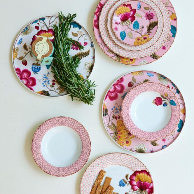 pip studio suppenteller bloomingtales pink online kaufen emil paula. Black Bedroom Furniture Sets. Home Design Ideas