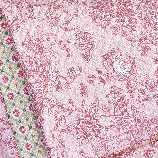 pip studio tagesdecke quilt hide and seek pink 180 x 260. Black Bedroom Furniture Sets. Home Design Ideas