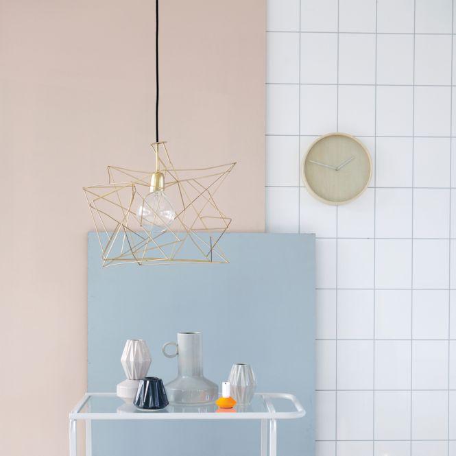 house doctor lampenschirm asymmetric gold online kaufen. Black Bedroom Furniture Sets. Home Design Ideas