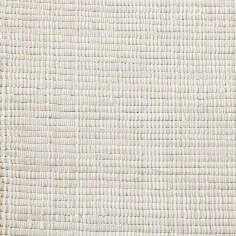 House Doctor Teppich Chindi Weiß 160x70 cm