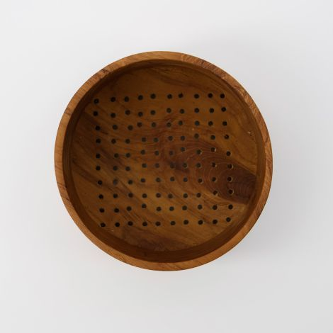 House Doctor Schüssel/Sieb Berry Natur 14,5 cm