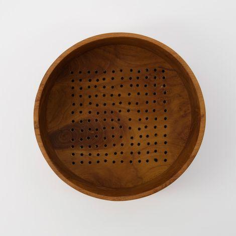 House Doctor Schüssel/Sieb Berry Natur 19,5 cm
