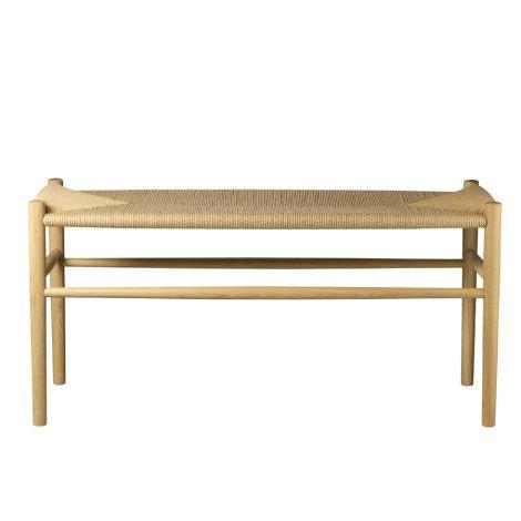 FDB Møbler J163 Piano bench Klavierbank Natur/Natur