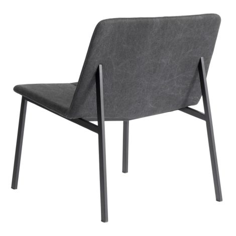 MUUBS Lounge Stuhl Chamfer Anthracite