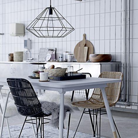 bloomingville lampe pernille schwarz online kaufen emil paula. Black Bedroom Furniture Sets. Home Design Ideas