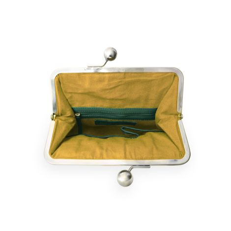 Sticks and Stones Ledertasche Annecy Washed Pine Green