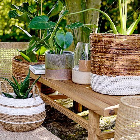 bloomingville korb nature 32 50 cm 2er set online kaufen emil paula. Black Bedroom Furniture Sets. Home Design Ideas