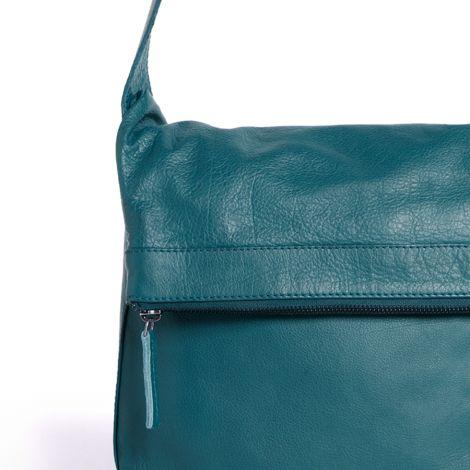 e8a21d384bbc8 Sticks and Stones Ledertasche Flap Bag Petrol Washed online kaufen ...