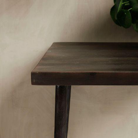 house doctor tisch slated schwarz gesprenkelt online kaufen emil paula. Black Bedroom Furniture Sets. Home Design Ideas
