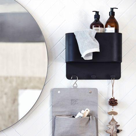 house doctor wand garderobe pock grey online kaufen emil paula. Black Bedroom Furniture Sets. Home Design Ideas