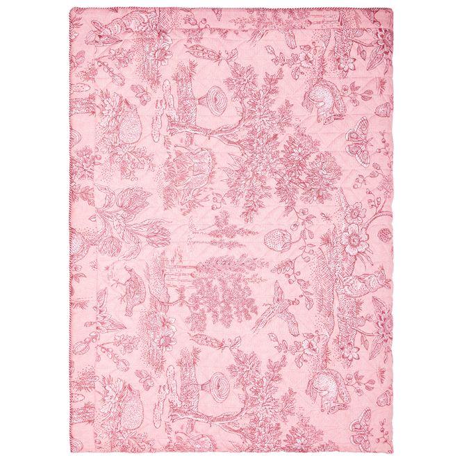 pip studio tagesdecke quilt hide and seek pink online. Black Bedroom Furniture Sets. Home Design Ideas