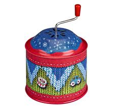 Spiegelburg Spieluhr-Dose Fröhliche Weihnachten überall