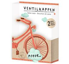 """Spiegelburg Ventilkappen """"I Love My Bike"""" 2 Stk."""