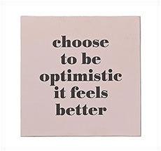 Bloomingville Schild Choose to be optimistic