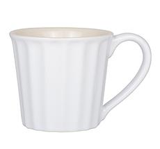 IB LAURSEN Becher mit Henkel Mynte Pure White