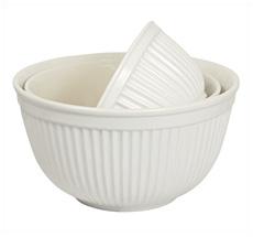 IB LAURSEN Mynte Schalen Pure White 3er-Set