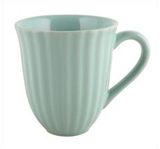 IB LAURSEN Tasse mit Rillen Mynte Mint Green
