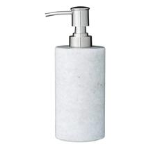 Bloomingville Marmor-Seifenspender Weiß