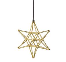 Bloomingville Dekoanhänger Double Gold Star
