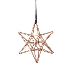 Bloomingville Dekoanhänger Double Copper Star