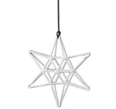 Bloomingville Dekoanhänger Double White Star