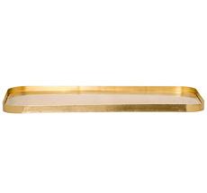 Bloomingville Großes Tablett Messing 50cm