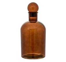 Bloomingville Flasche mit Deckel Brown