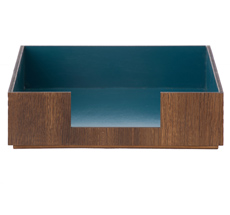 ferm LIVING Schreibtischablage Blue