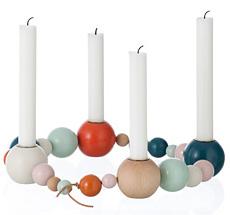 ferm LIVING Kerzenständer String Multi