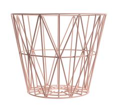 Ferm Living Wire Basket - Rose - Large