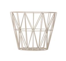 Ferm Living Wire Basket - Grey - Medium