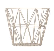 Ferm Living Wire Basket - Grey - Large