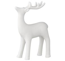Bloomingville Dekofigur Posing Reindeer Weiß