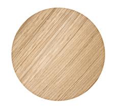 ferm LIVING Aufbewahrungskorb Deckel - Oiled Oak - Small