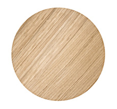 Ferm Living Wire Basket Top - Oiled Oak - Small