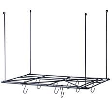 ferm LIVING Square Rack (inclusive 8 hooks)