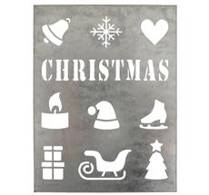 IB LAURSEN Metallschild Christmas