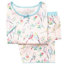 Cath Kidston Pyjama Set Budgies Pink