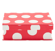Cath Kidston Sewing Case Big Spot Red