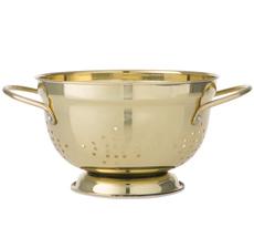 Bahne & Co. Küchensieb Gold