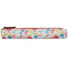 Cath Kidston Skinny Pencil Case Mews Ditsy White