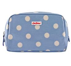 Cath Kidston Kosmetiktasche Mini Button Spot Dream Blue