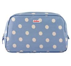 Cath Kidston Waschtasche Button Spot Dream Blue