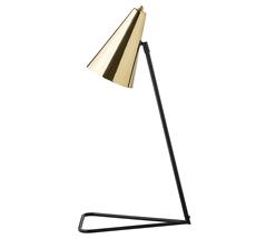 Bloomingville Tischlampe Schwarz/Messing