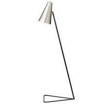 Bloomingville Stehlampe Schwarz/Silber