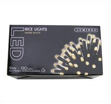 Kaemingk LED Lichterkette LUMINEO Ricelight außen 120 L