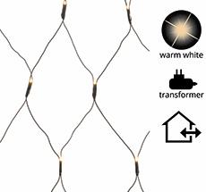 Kaemingk LED Netz-Lichterkette Schwarz Outdoor/Indoor 3x3m